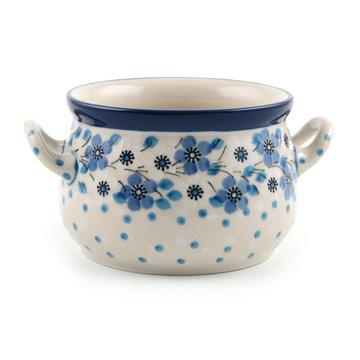 Suppenschüssel Blue White Love