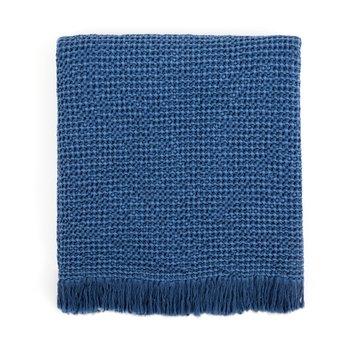 Decke Denim Blau